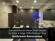 Tips to Get the Most Out of Your Bathroom Renovation