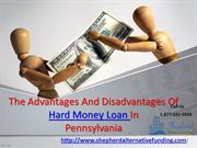 The Advantages And Disadvantages Of Hard Money Loan In Philadelphia