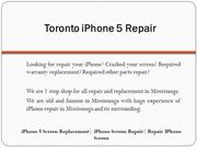 iPhone Screen Repair| iPhone 5 Screen Replacement