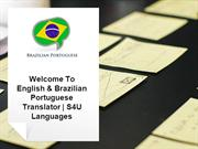 Brazilian Portuguese to English & vice-versa Translation @S4U Language