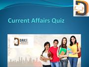 Current Affairs Quiz - dailyjankari