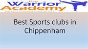 Best Sports clubs in Chippenham