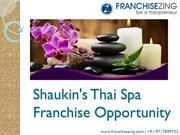 Spa Franchise Business Opportunity in India