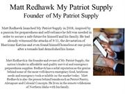 Matt Redhawk My Patriot Supply - Founder of My Patriot Supply