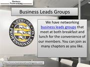 Business Leads Groups