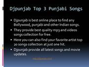 Djpunjab Top 3 Punjabi Songs
