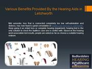 Various Benefits Provided By the Hearing Aids in Letchworth
