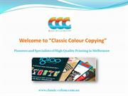 Pioneers and Specialists of High Quality Printing in Melbourne