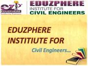 Eduzphere Auto CAD, Staad Pro Training for Civil Engineers