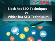 Black hat SEO techniques vs white hat SEO techniques - SEO Company in