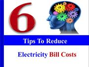 Six Tips To Save Electricity Bills