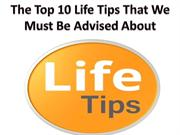 Bobby Juarbe - Top 10 life Guidelines That We Must Be Suggested About