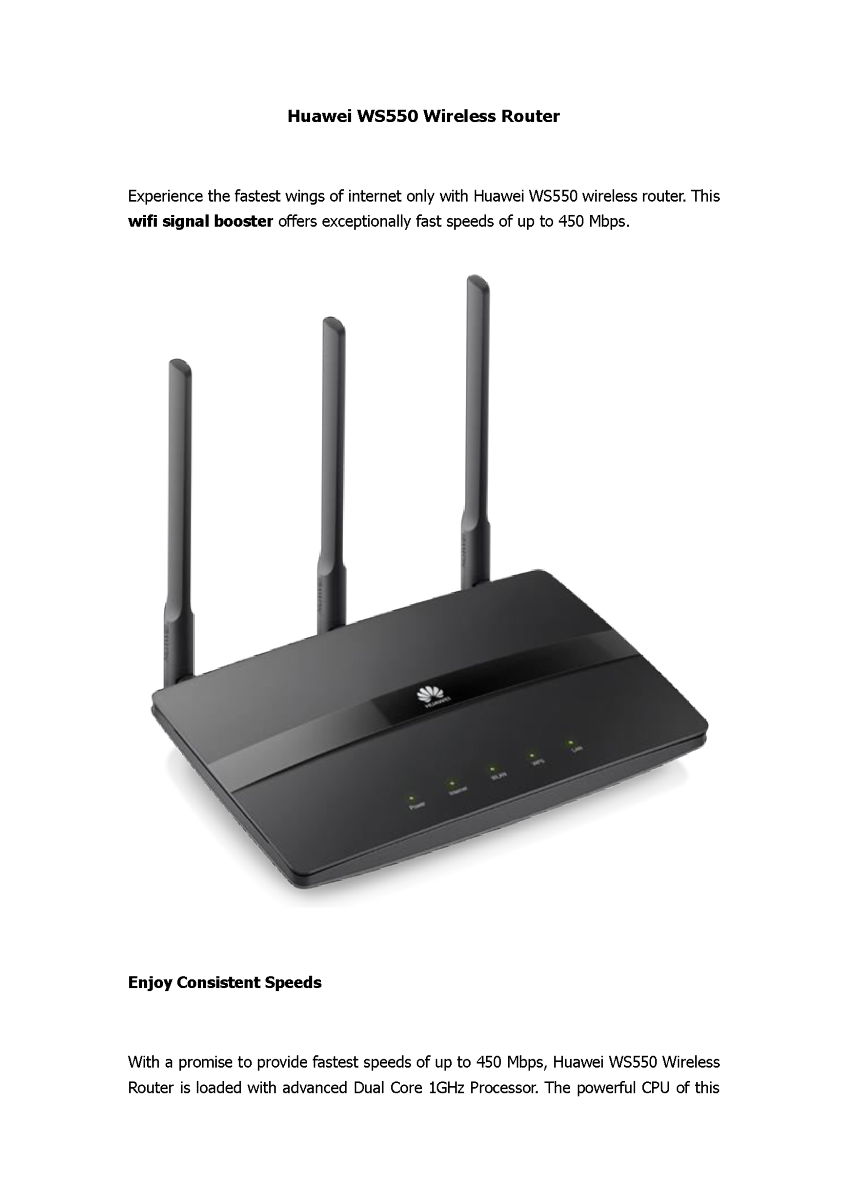 Consumer Huawei India Wifi Repeaters Wireless Range Extender Ws331c Lets Connect