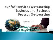 our fast services Data Entry Projects & Data Entry Bpo Projects
