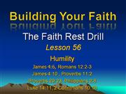 Building Your Faith Lesson 56