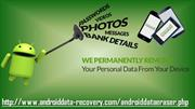 Permanent delete all data on android phone and tablet