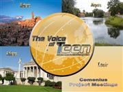 The Voice of Teen: Comenius Meetings