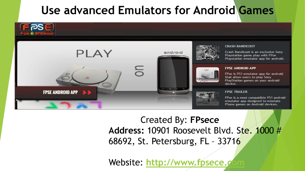 Use Advanced Emulators for Android Games |authorSTREAM
