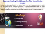 Calamity Healing Could Assist You Plan for achieving success