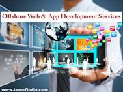 Offshore Web Development Service from India