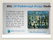 Blitz 3D Floor Plan Walkthrough Design