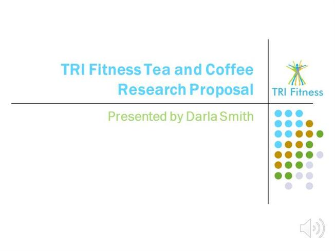 research proposal about coffee