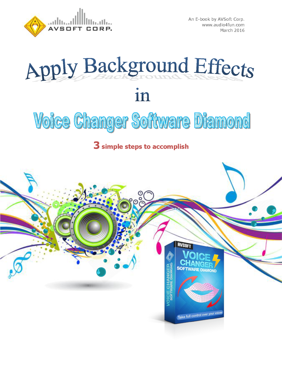 apply background effects in voice changer software authorstream. Black Bedroom Furniture Sets. Home Design Ideas
