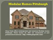 Modular homes Pittsburgh