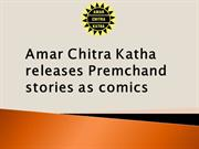 Amar Chitra Katha releases Premchand stories as comics