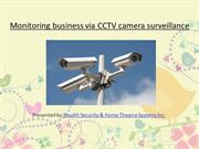A CCTV installation for better surveillance