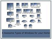 4 Awesome Types of Windows for your Home