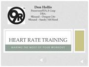 Member Heart Rate Training for 9Round - Oregon City