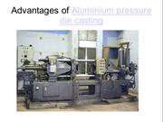 Advantages of Aluminium pressure die casting
