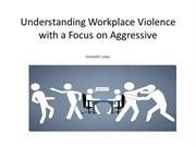 Workplace violence powerpoint