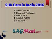 Best SUVs in India - 2016 Top 10 SUV Cars Prices - PDF