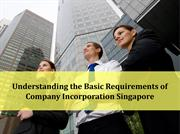 Basic Requirements of Company Incorporation Singapore