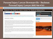 Personal Injury Lawyer Whitby-Bachman Personal Injury Lawyer