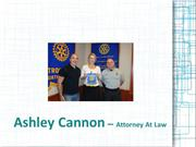 Ashley Cannon - Attorney At Law