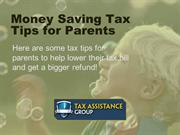 Top Money Saving Tax Tips for New Parents