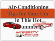 Air Condition Repair for your Car In Houston