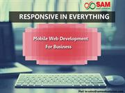 Responsive in everything now - Mobile Web Development for Business