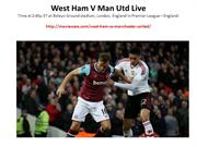 West Ham vs Manchester United Live