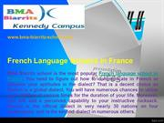 French Language School in France