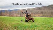 Florida vacant land for sale