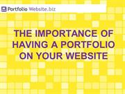 The Importance of Having a Portfolio on Your Website