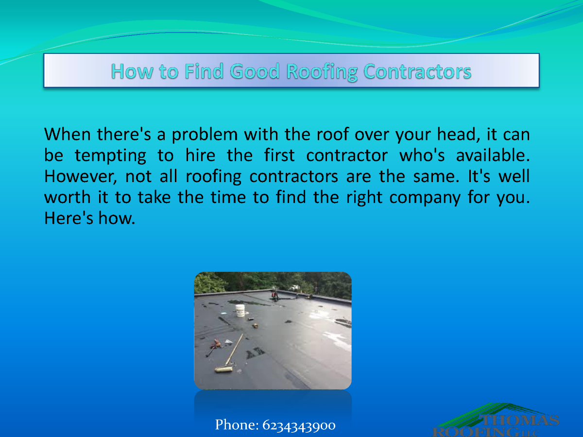 How to find good roofing contractors authorstream - Contractor how to find one ...