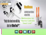 Kone Carbide Tool Ltd, one of the largest Carbide Insert manufacturer