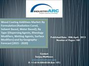 Wood Coatings Additives Market by type and by application 2015-2020.