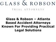 Glass & Robson – Known For Providing Practical Legal Solutions