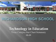 School Technology and Readiness - RHS